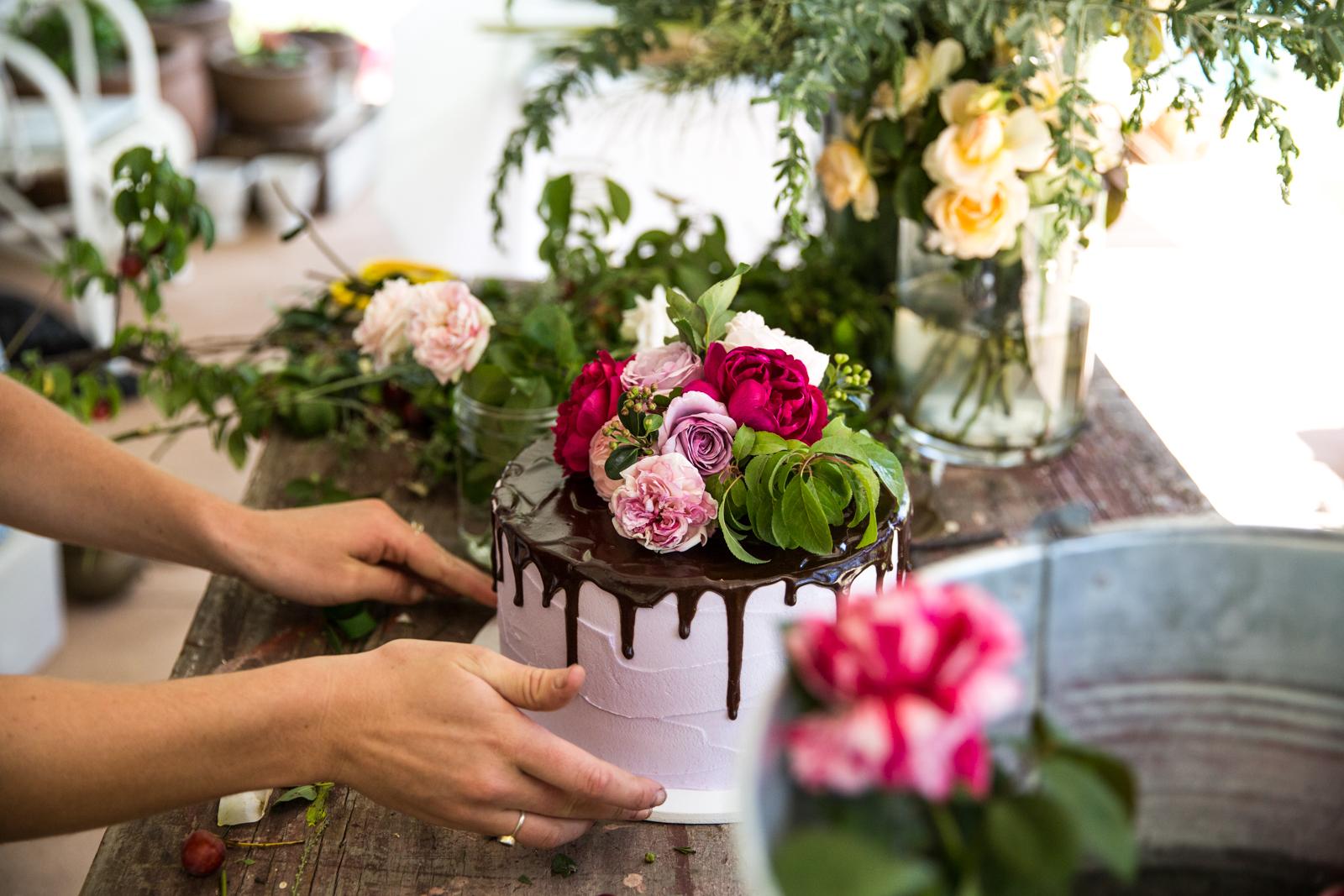 Cake oh flora